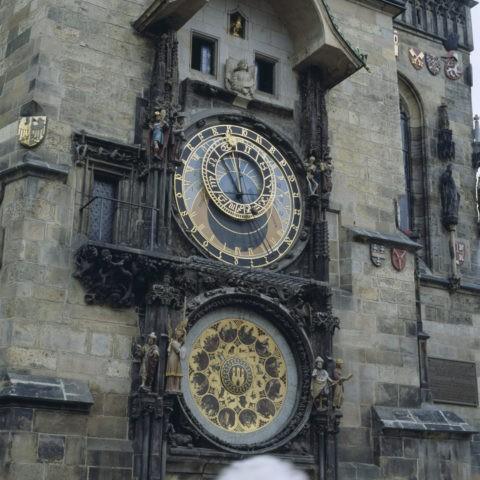 旧市庁舎の天文時計 プラハ
