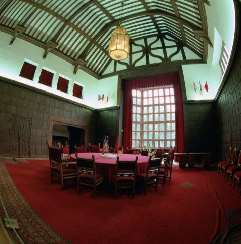 ポツダム会議の部屋 ポツダム ドイツ