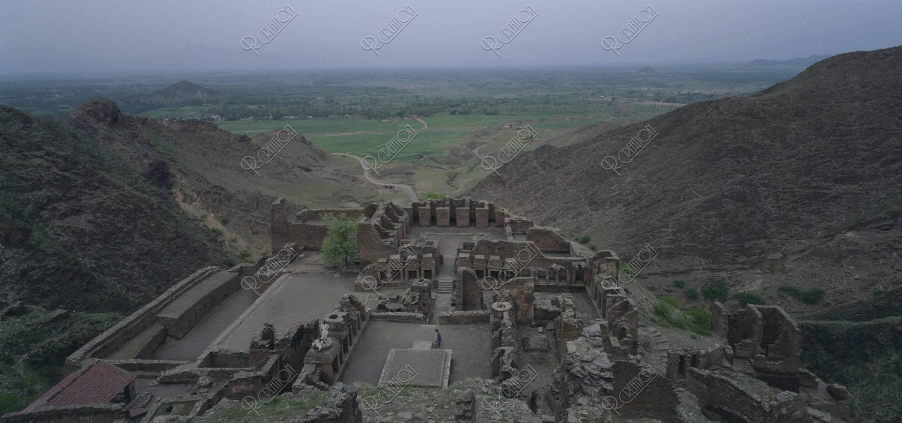 タフティバイ仏教遺跡 パキスタン
