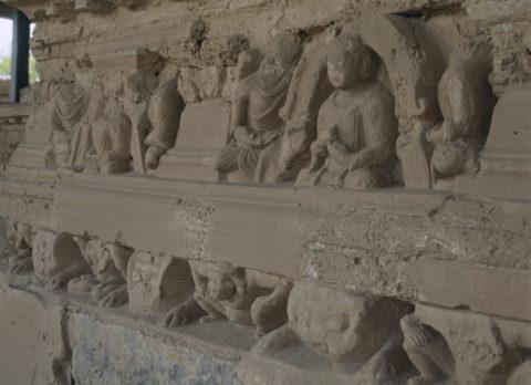 ジョーリアン僧院仏教遺跡 タキシラ パキスタン