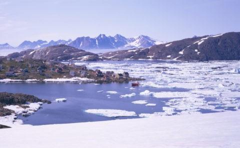 エスキモー集落地 クルスク グリーンランド