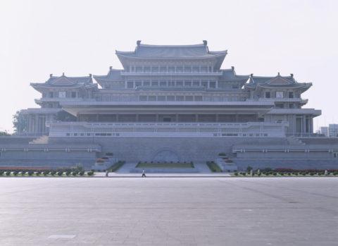 人民学習堂 平壌 北朝鮮