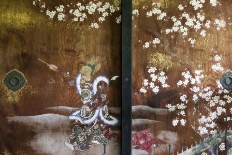 仁和寺 襖絵 世界遺産