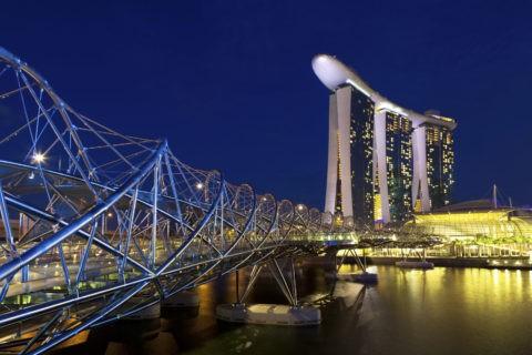 シンガポール へリックス・ブリッジ