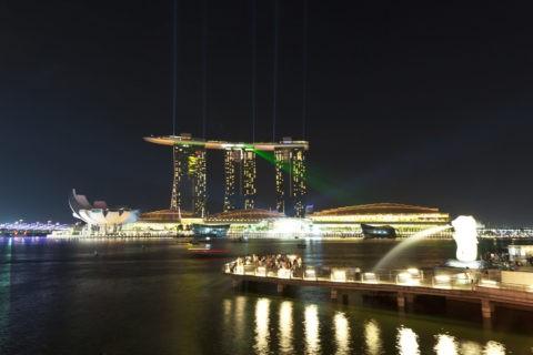 シンガポール マリーナ・ベイ