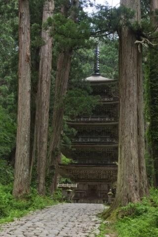 羽黒山 五重塔