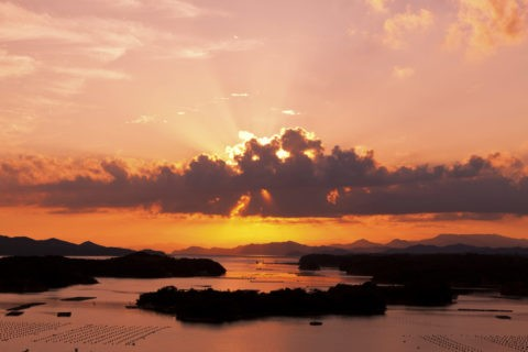 英虞湾 光芒