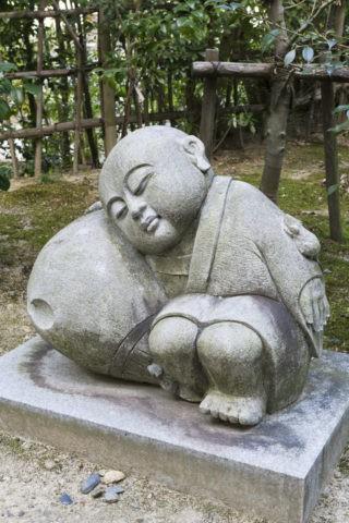 一休寺 一休の像