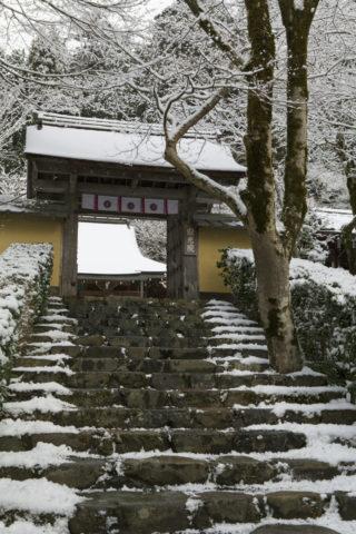 雪の寂光院