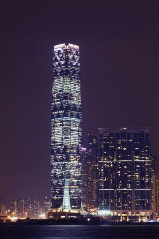 香港 スカイ100夜景