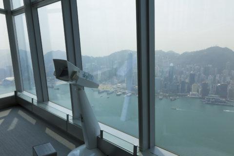 香港スカイ100展望台
