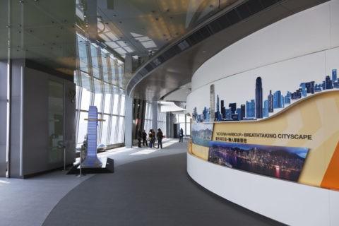 香港スカイ100展望室