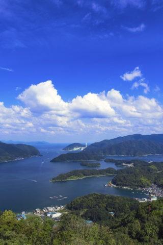 五老ヶ岳公園からの舞鶴湾