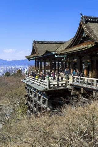 冬の清水寺