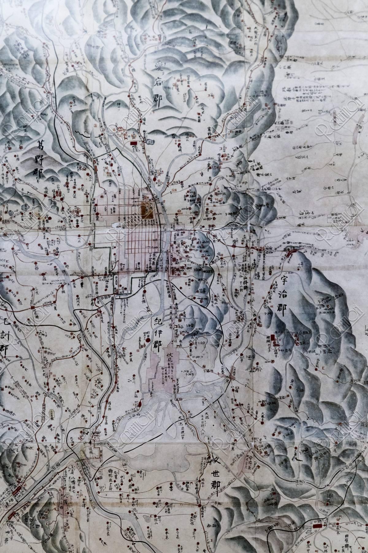平安京古地図
