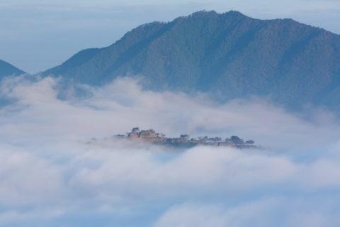 竹田城址と雲海