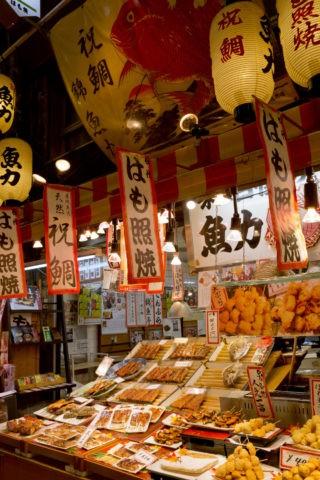 錦市場の魚屋
