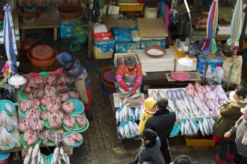 チャガルチ市場