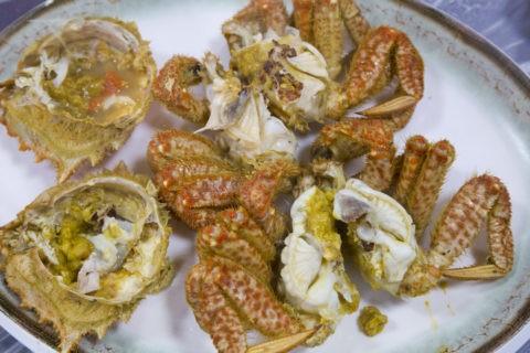 韓国料理 毛ガニ