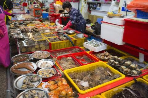 ジャガルチ市場