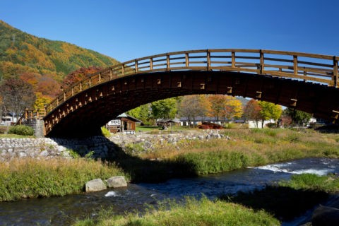 奈良井 木曽の大橋