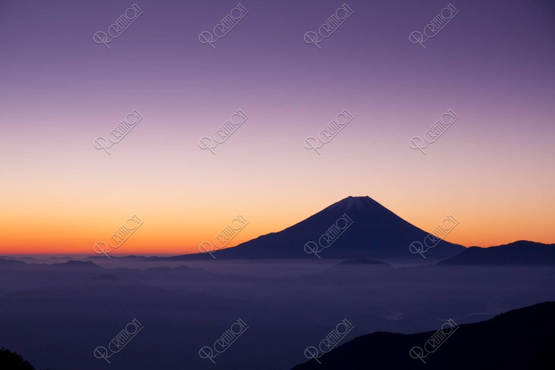 富士山黎明