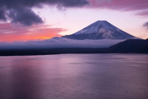 富士山 朝焼け