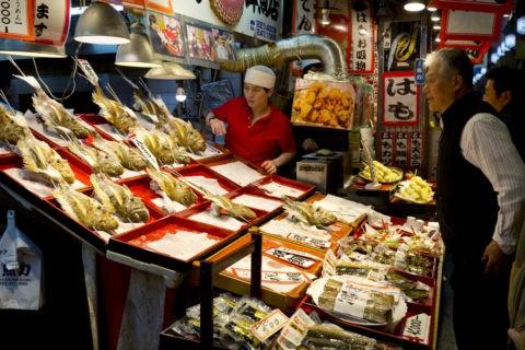 大晦日の錦市場