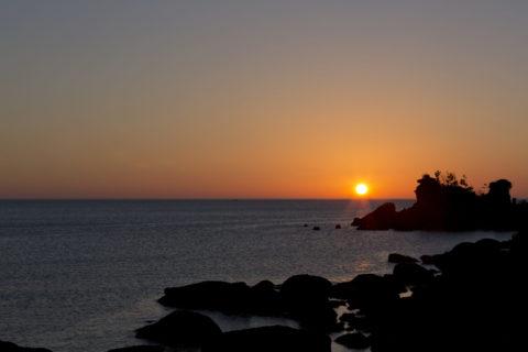 夕日ケ浦海岸