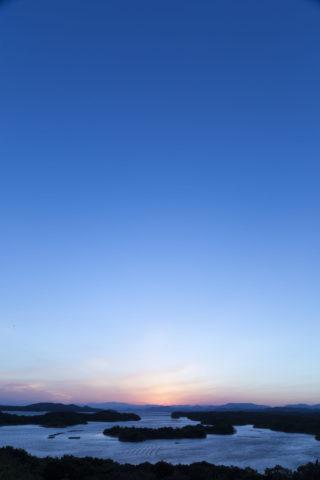 英虞湾 夕日