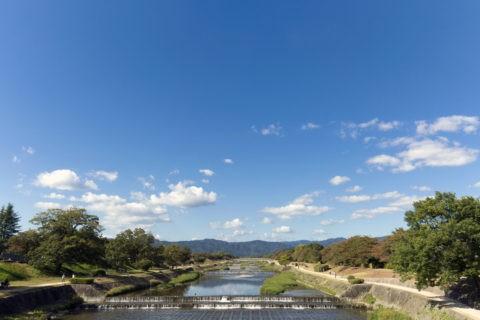 葵橋からの鴨川
