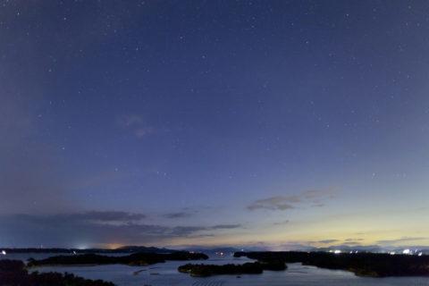 英虞湾と星空