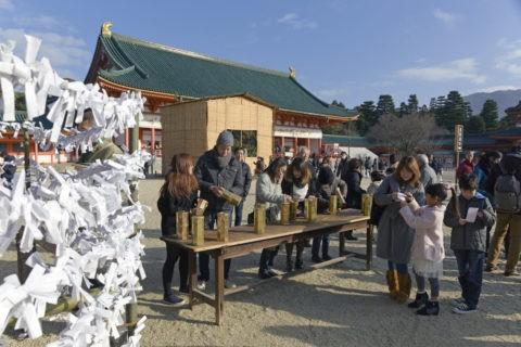 正月の平安神宮
