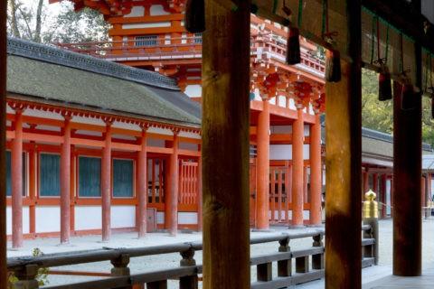 下鴨神社 橋殿と楼門