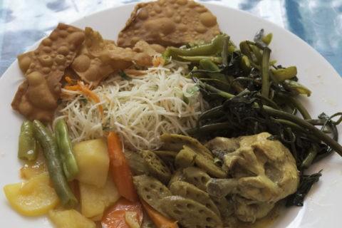 スリランカ料理 バイキング