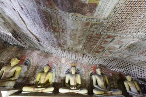ダンブッラ石窟寺院 第2窟