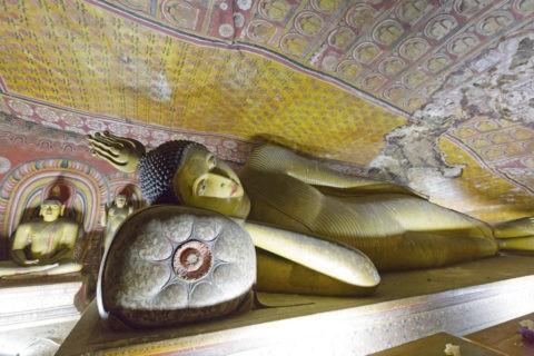 ダンブッラ石窟寺院 第3窟