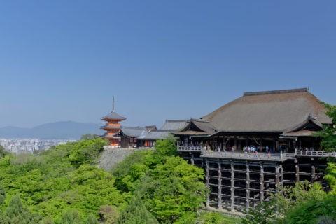 清水寺 新緑