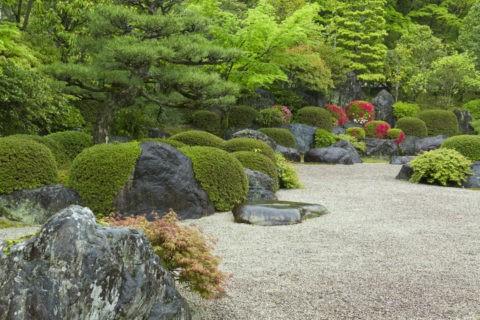 三室戸寺 石庭
