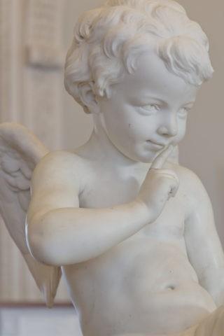 エルミタージュ美術館 天使像
