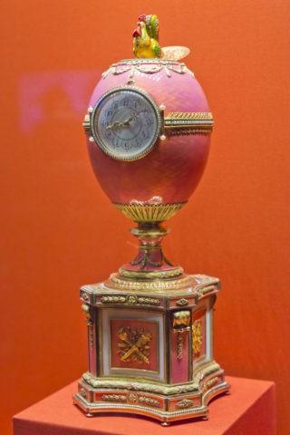 エルミタージュ美術館 卵型時計