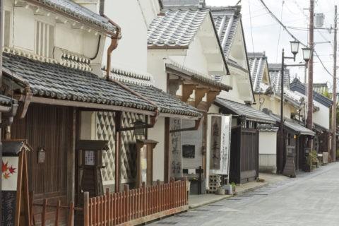 篠山の街並み