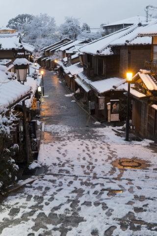 雪の二年坂