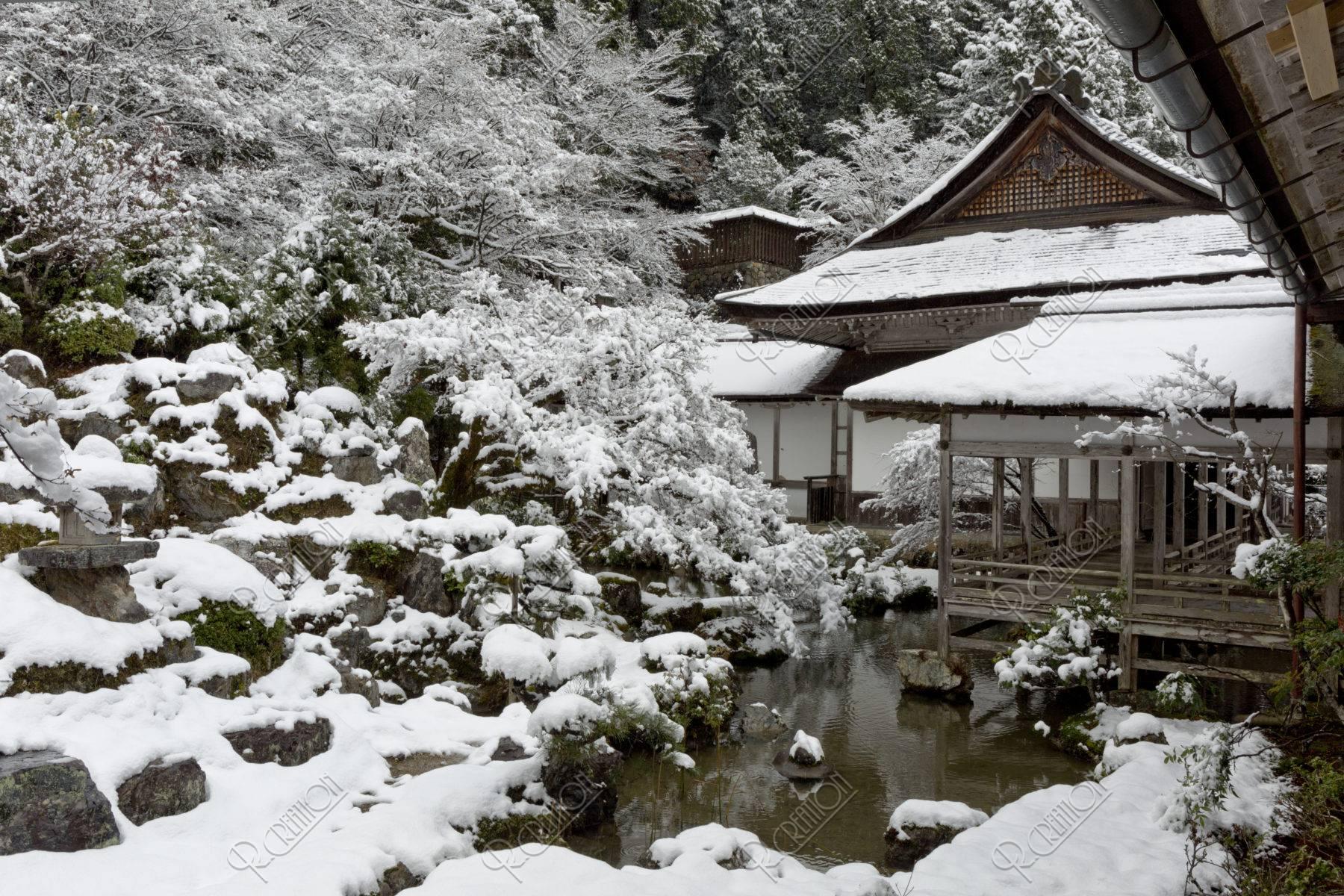 常照皇寺 雪