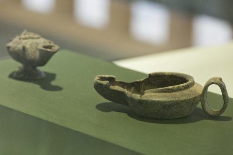 ヴォルビリス博物館 発掘品