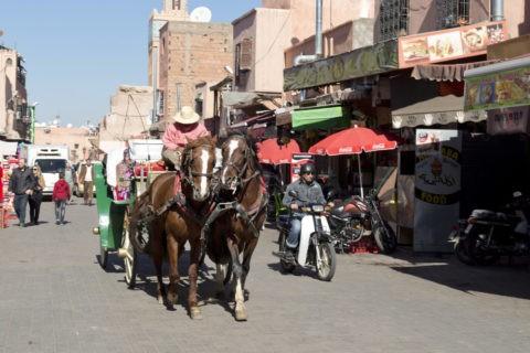 旧市街 観光馬車