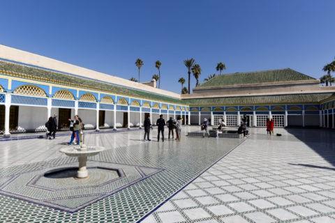 バヒア宮殿 中庭
