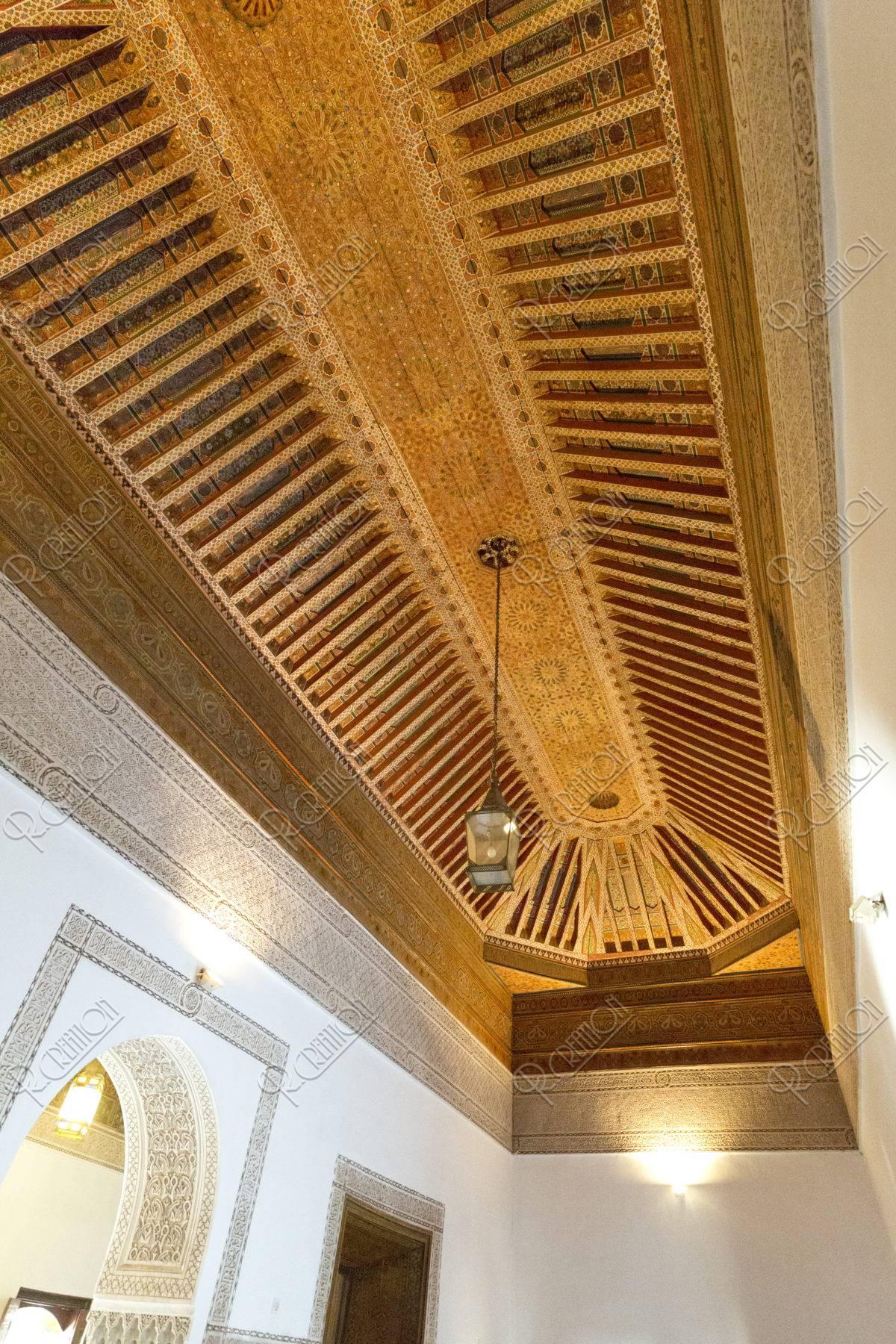 バヒア宮殿の天井