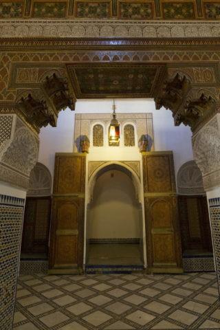 バヒア宮殿 部屋