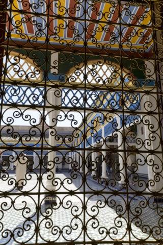 バヒア宮殿 透かし窓
